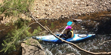 Women's Easy Rapids Kayaking // Saturday 28th November tickets