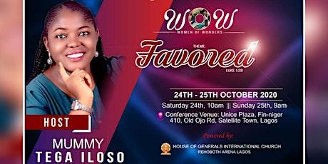 """WOW"" (Women of wonders) Lagos Women Conference 2020 tickets"