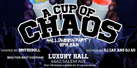Chaos Halloween Party Juice Edition tickets