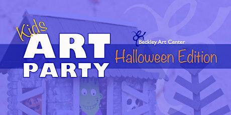 Kids Art Party - Halloween Edition tickets