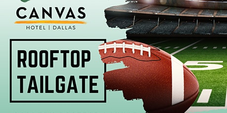 CANVAS Dallas Rooftop Tailgate (FREE Admission) tickets