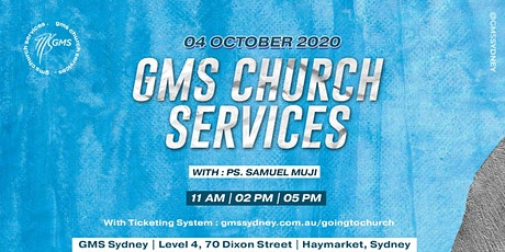 Sunday Live Service 2 @ 2pm - 4 October 2020 tickets