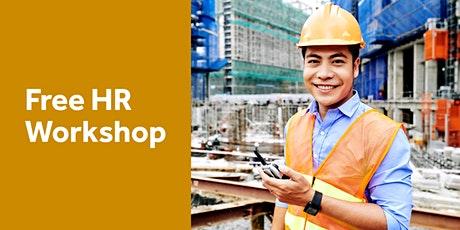 Free HR Workshop for Employers – Work Health and Safety requirements tickets