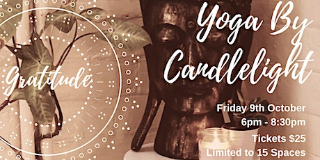 Yoga By Candlelight: Gratitude tickets