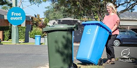 Waste & recycling in Bayside – Your kerbside bins tickets