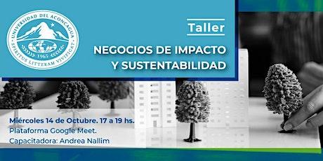 Taller  - Negocios de Impacto y Sustentabilidad boletos