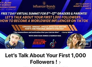 Who Else Is Going To Join The Webinar For TikTok Creators To Get Unstuck! tickets