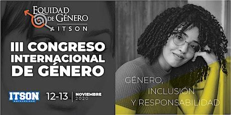 III Congreso  Internacional de Género entradas