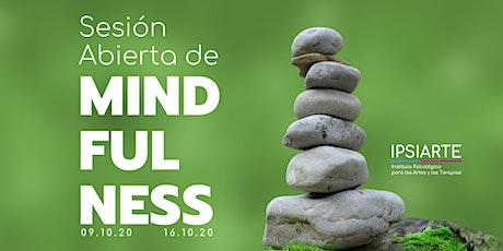 Sesión Abierta de Mindfulness entradas
