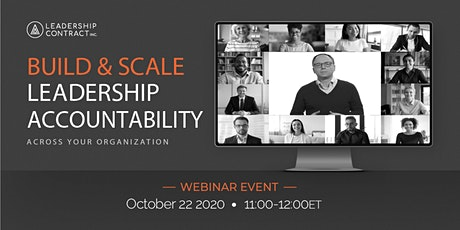 Build & Scale Leadership Accountability - October tickets