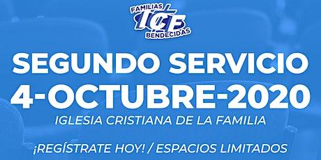 Servicio ICF - 4 de Octubre de 2020  - Segundo Servicio - 11AM tickets