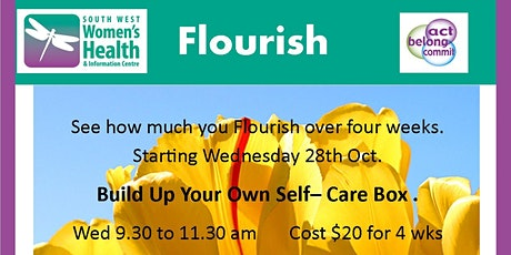 Flourish- Building up your Self Care tickets