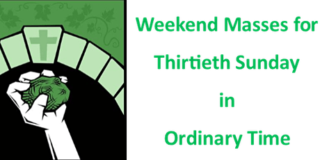 Parishioner Allocation - Weekend Masses on 24/25 October tickets
