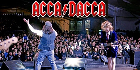 ACCA DACCA are BACK IN BLACK tickets