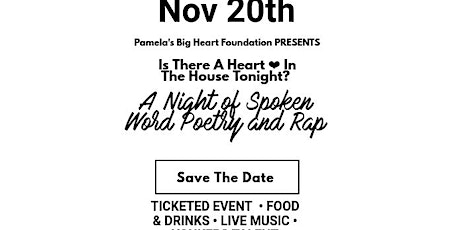 Is There A Heart In The House Tonight? tickets