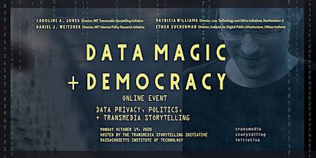 Data Magic + Democracy tickets