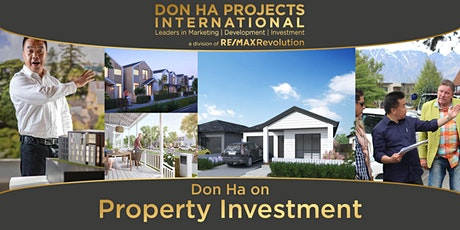 Don Ha on Property Investment (Karaka/Drury) tickets