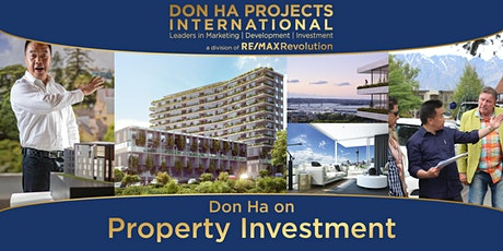 Don Ha on Property Investment (Auckland CBD) tickets