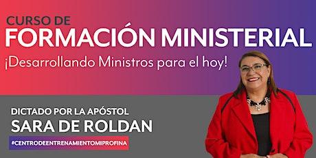 Curso de Formación Ministerial entradas