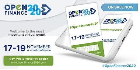 Open Finance 2020 entradas