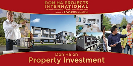 Don Ha on Property Investment (St Johns) tickets