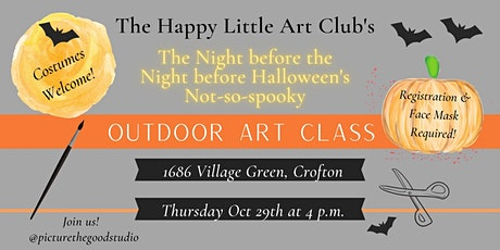 Art-o-Ween Workshop (the Night (Almost) before Halloween) tickets