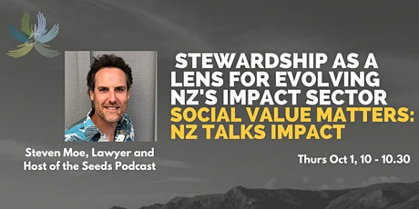 Stewardship as a Lens to Evolving NZ's Impact Sector tickets