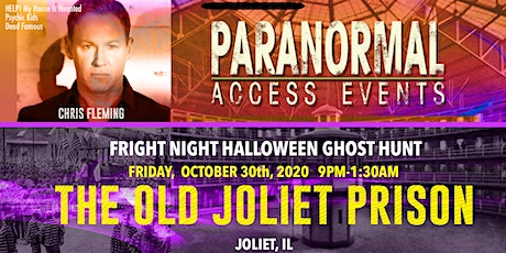Paranormal Access with Chris Fleming Halloween EVE at The Old Joliet Prison tickets
