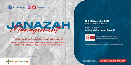 Janazah Management Course (December 2020) @ Still Road (2-Days) tickets