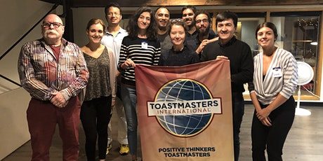 Positive Thinkers Toastmasters Club Meeting billets