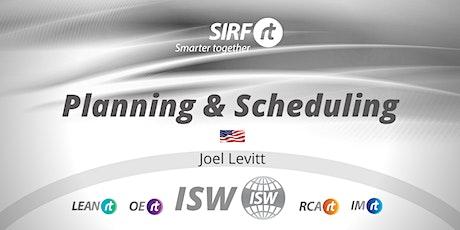 VicTas ISW Joel Levitt |  Maintenance Planning & Scheduling tickets