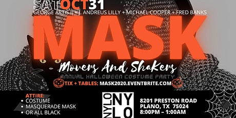 M.A.S.K. Movers & Shakers Halloween Costume Party @ Nylo Hotel Plano tickets