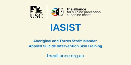 IASIST - Indigenous Applied Suicide Intervention Skills Training tickets