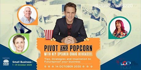Pivot and Popcorn - Futureproof Your Business  wit tickets