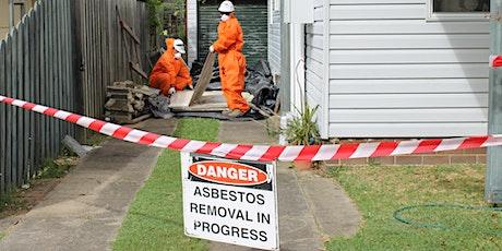 Free Household Asbestos Collection Program November 2020 tickets