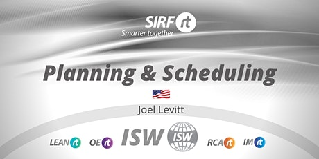 SA ISW Joel Levitt |  Maintenance Planning & Scheduling tickets