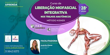 Curso Liberação Miofascial Integrativa Método Kisner 28ª ed - Caxias RS ingressos