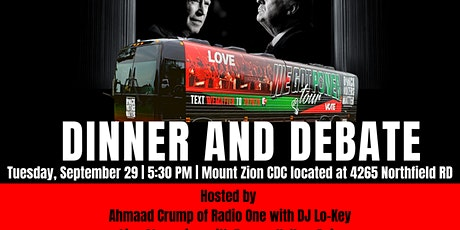 """""""We Got the Power"""" Dinner and Debate Drive  In Event tickets"""