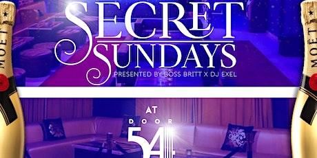 Secret Sunday's tickets