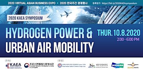Hydrogen Power &  Urban Air mobility tickets