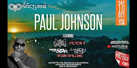 Paul Johnson & Friends @ Le Nocturne tickets