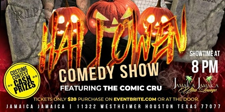 Halloween Comedy Show featuring The Comic Cru tickets