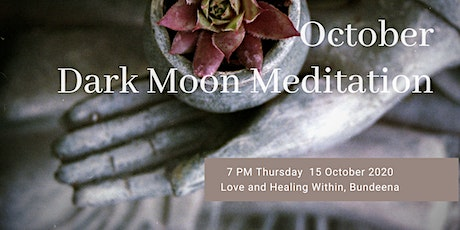 October Dark Moon Meditation tickets