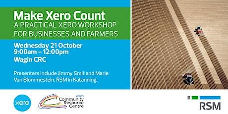 Make Xero Count tickets