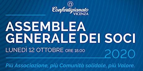 ASSEMBLEA GENERALE SOCI 2020 biglietti