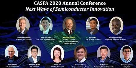 CASPA 2020 Annual Conference: Next Wave of Semiconductor Innovation tickets