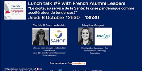 Lunch talk #9 with French Alumni Leaders tickets