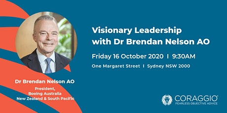 Visionary Leadership with Dr Brendan Nelson AO tickets