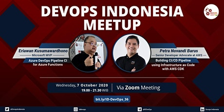 DevOps Indonesia (ONLINE) Integrated CI/CD pipeline with Azure and AWS tickets