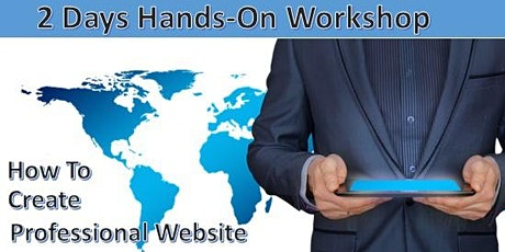 Learn how to Create Free Professional Website for $40 ONLY tickets